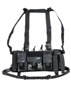 British Terrain Pattern Black Trojan Chest Rig